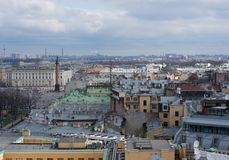 St Petersburg, Russie - 24 avril 2016 : vue du centre historique Image libre de droits