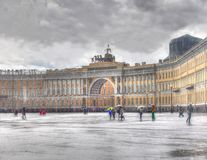 15 06 St Petersburg 2017 Russie Fleuve de Neva Vue de St Petersburg Image libre de droits