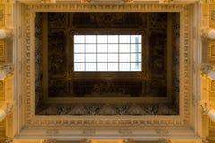 St Petersburg, Russie - 2 juin 2017 plafond dans le musée russe de l'empereur Alexandre III Photographie stock