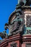 St Petersburg, Russie - 24 septembre 2017 : Fragment du décor du monument à Nicholas I Image libre de droits