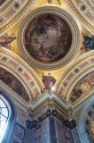 St Petersburg, Russie, vue intérieure du St Isaac Cathedral Photos libres de droits