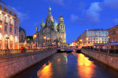 St Petersburg, Russland stockfoto