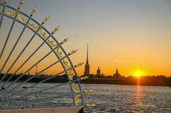 St Petersburg, Russland Stockfotografie
