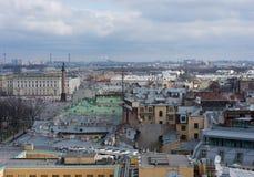 St Petersburg, Russland - 24. April 2016: Ansicht der historischen Mitte Lizenzfreies Stockbild