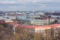 St Petersburg, Russland - 24. April 2016: Ansicht der Mitte Stockbilder