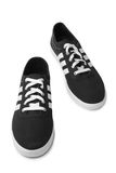 St. PETERSBURG, RUSSLAND - 28. August 2014: ADIDAS tragen Schuhe auf weißem Hintergrund zur Schau Lizenzfreie Stockfotos