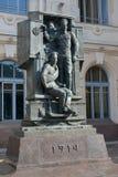 St. Petersburg, Russland Ein Monument zum russischen Schutz des großen Krieges über die Vitebsk-Station Stockbilder