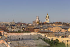 29 06 2017, St Petersburg, Russland Früher Morgen an Nevsky-Aussicht Stockbild