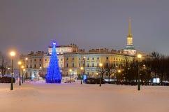 St Petersburg, Russland im Abend Stockfoto