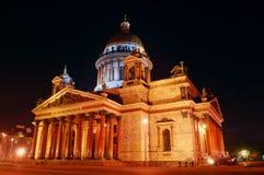 St Petersburg, Russland, Kathedrale Str.-Isaac stockfoto