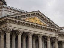St Petersburg, Russland - 10. September 2017: Ansicht der Kasan-Kathedrale in St Petersburg, Russland Lizenzfreie Stockbilder