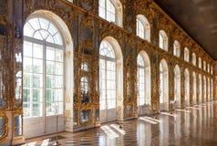 Inre av den Catherine slotten Royaltyfria Bilder