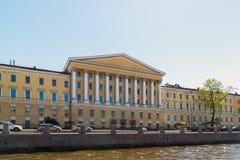 St Petersburg Ryssland - Juni 04 2017 Obukhov sjukhus Militär-läkarundersökning akademi Royaltyfri Fotografi