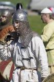 St Petersburg Ryssland - 30 Maj 2015: Festival`-legender av den norska viking`en, royaltyfri fotografi