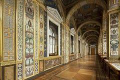 St Petersburg Ryssland - 03 mars 2015: Imperialistisk slott i Sa Arkivbild