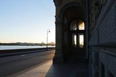St Petersburg ` s zimy pałac Zdjęcia Stock