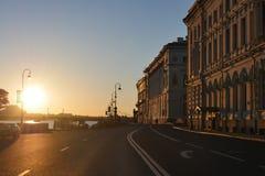 St Petersburg ` s zimy pałac Fotografia Royalty Free