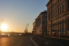 St Petersburg ` s zimy pałac Fotografia Stock