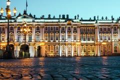 St Petersburg ` s zimy pałac Obrazy Royalty Free