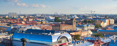 St.Petersburg from Saint Isaac's Cathedral Stock Image