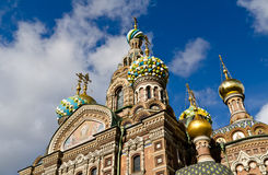 St. Petersburg, Savior on the Spilled Blood Stock Photos