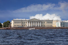 St. Petersburg scientific center of the Russian Academy of Scien Stock Photos