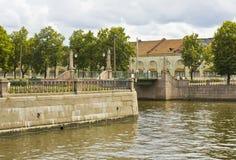 St. Petersburg, Seven bridges Royalty Free Stock Photo