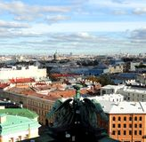 St. Petersburg skyline Royalty Free Stock Images