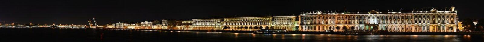 St Petersburg slottinvallning Royaltyfria Foton