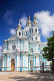 St. Petersburg. Smolny Cathedral Stock Image
