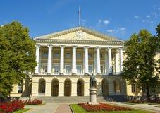 St. Petersburg, Smolny institute Royalty Free Stock Photos
