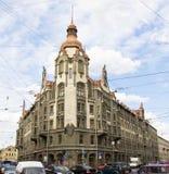 St Petersburg som bygger i modern stil Royaltyfria Foton
