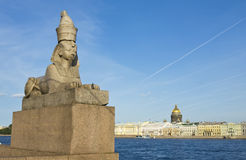 St. Petersburg, sphinx Stock Photos