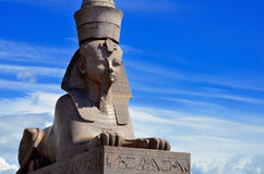 St. Petersburg sphinx. Near Neva river Stock Photography