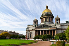 St. Petersburg, St. Isaac's Cathedral   Royalty Free Stock Images