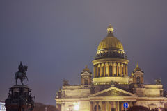 St.Petersburg, St. Isaac's cathedral Stock Photos