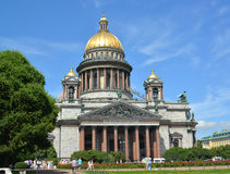 St. Petersburg. St. Isaac's Cathedral in summer day Stock Photo