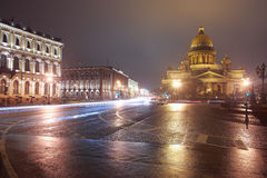 St.Petersburg, St. Isaac's Square Stock Photo