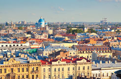 St. Petersburg in summer day. Russia Stock Images