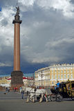 St. Petersburg. Town center near the winter palais in St. Petersburg Royalty Free Stock Image