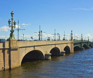 St. Petersburg, Trinity bridge Royalty Free Stock Photo