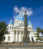 St. Petersburg, Trinity Izmaylovskiy cathedral Royalty Free Stock Photos
