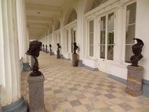 St. Petersburg, Tsarskoye Selo, Grote Catherine Palace Stock Afbeelding