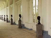 St Petersburg Tsarskoye Selo, stora Catherine Palace Arkivfoton