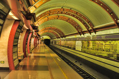 St. Petersburg  underground station Stock Images