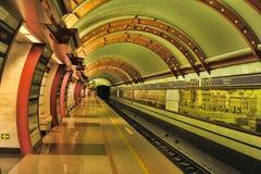St. Petersburg  underground station Stock Images