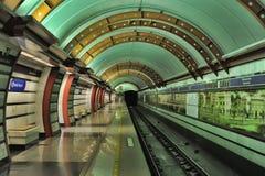 St. Petersburg  underground station Stock Photos
