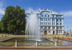 St Petersburg, université Militaire-marine Images libres de droits