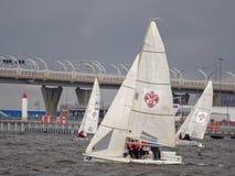 St. Petersburg University Sailing Open Cup Stock Image