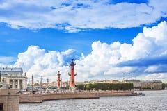 St Petersburg, Vasilevsky-Insel ÑŽ lizenzfreie stockbilder